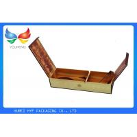 China Recyclable Cigarette Pack Case Rectangle Tobacco Box With Double Lids wholesale
