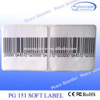 Buy cheap High Reliability EAS Soft Label / RF Label 4×4CM For Anti Theft product