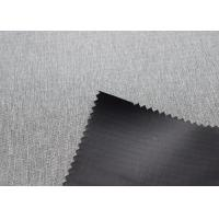 Buy cheap Grey 420gsm Outdoor Tent Fabric Wrinkle Resistance Comfortable Touch product