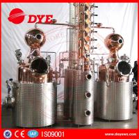 Buy cheap 500L Manual Wine Alcohol Distiller Tower With Stainless Condenser product