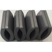Buy cheap Customized Permanent Big Ferrite Arc Magnet For Air Pump 52.12*50.18*7.27 mm product