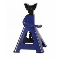 Buy cheap CE Hydraulic Blue Screw Adjustable Axle Stands 3 Ton Capacity product