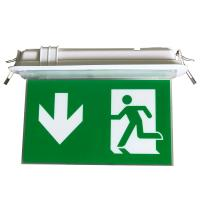 China 200LM Ceiling Recessed Indoor Led Battery Operated exit signs with emergency lighting wholesale