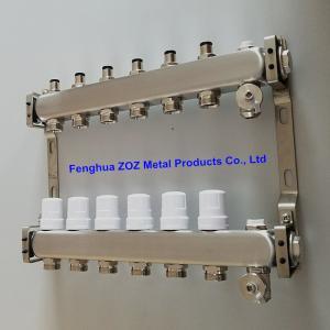 Buy cheap Les tubulures d'acier inoxydable ont placé pour rayonnant hydronic et sous le système de chauffage par le sol product