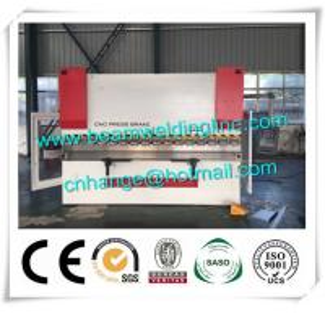 WE67K -200T /4000 CNC Hydraulic Press Brake , Sheet Press Brake Bending Machine