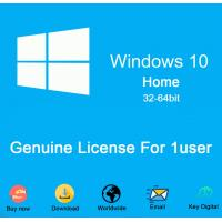 Quality BEST Quantity price Microsoft Windows 10 home dvd COA sticker 100% Activation 64bit DVD win10 home License Key Code for sale