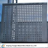 Buy cheap Perforated Metal Mesh Panels 1220X2440mm Standard Size With Opening 1~30mm product