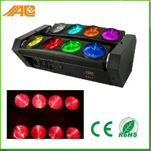 Buy cheap DMX512 RGBW 4in1 8 はくものビーム LED 移動ヘッド ライト/回転段階ライトを注目します product