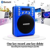 newgood bluetooth voice amplifier speaker with wireless headset microphone fm radio mp3 player. Black Bedroom Furniture Sets. Home Design Ideas