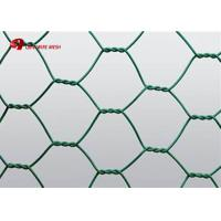 Buy cheap galvanized or pvc coated rabbit netting / poultry net hexagonal wire mesh product