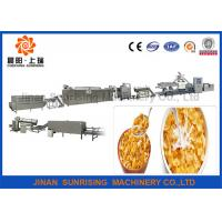 Buy cheap Good Taste Breakfast Cereal Corn Flakes Processing Line Electricity / Gas Energy from wholesalers