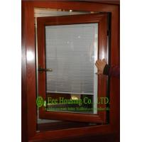 Buy cheap Aluminum Adjustable Louver Casement Window With Double Glazing,windows with blinds inside product