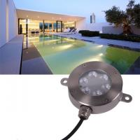 Buy cheap 12 Volt Underwater LED Lights , Stainless RGB Color Changing LED Pool Light product