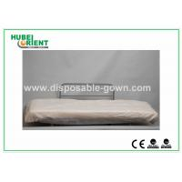 China Hospital Disposable Bed Sheets Sanitary PP Bedcover / Disposable Waterproof Sheets With Elastic on sale