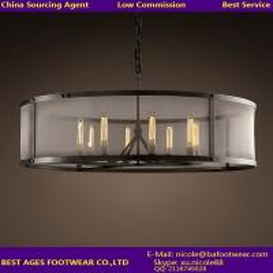 Buy cheap Luz comercial de la lámpara del vintage grande con la sombra grande del metal estupendo product