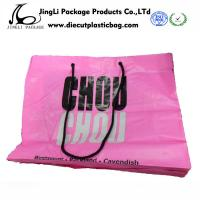 Buy cheap Bottom up HDPE Rope Handle pink Plastic Bags with 500mm width , from wholesalers