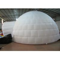 Buy cheap Digital Printing Trading Blow Up Dome Ten , Customized Inflatable Igloo Tent product