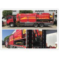 Buy cheap Heavy Duty Rescue Fire Equipment Truck Wireless Control Water Supply product