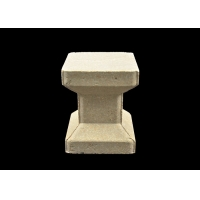 Buy cheap Refractory Cordierite Mullite Supports 100mm Kiln Shelves And Posts product