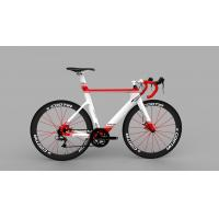 China Super Lightweight Carbon Fibre Road Bike Frame With Matt / Glorry Painting on sale