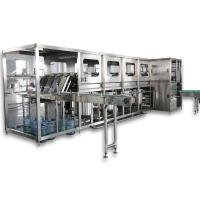 Buy cheap 5 - Gallon Bottle Pure / Mineral Water Machine Washing Filling Capping User Friendly product