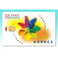 China SLE4442 Contact chip cards on sale