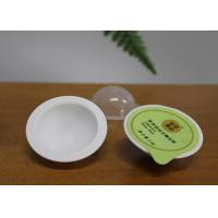 Buy cheap Round Plastic Mini Capsule Pack For Powder Lotion Volumn 8g White Color product