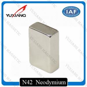 Buy cheap Coating Nickel N45 Neodymium Magnets Rectangular 20x10x40mm Rare Earth Magnet product