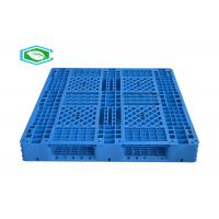"Buy cheap 51"" × 43"" Nest Reusable Plastic Pallets With Single Face For Logistic Transport from wholesalers"