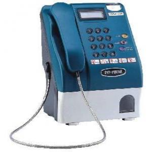Cabine téléphonique de pièce de monnaie