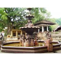 China Garden Marble Angel Fountain Sculpture on sale