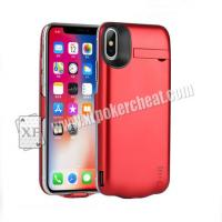 Buy cheap 5.8 Inch iPhone X Power Case Camera For Poker cheat With 20 - 60cm Distance product