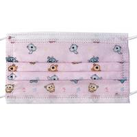 Buy cheap 3 Layers Filter Disposable Kids Mask Non Woven Melt Blown Fliter Cloth product