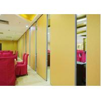 Buy cheap Fireproof Room Partition Wall , Hotel Room Partition Panels Wooden Veneer Finish product