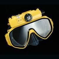 HD waterproof a câmera da máscara do mergulho