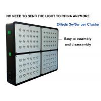 Buy cheap 96leds 3w 300w Led Growing Lights For Cannabis , Dual Core Led Weed Grow Lights product