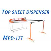 Buy cheap 1.9kw Top Sheet Dispenser 0.4-0.7Mpa Air Pressure Width 1700mm Motor Control product