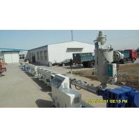 Drainage And Gas Pipe Plastic Extrusion Line Pp Pe