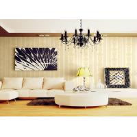 Buy cheap Romantic Individuality Natural Plant Fibers Victorian Damask Wallpaper For Sofa Background from wholesalers