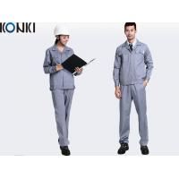 China Adults Safety Professional Work Uniforms For Builders Work Wear / Engineer Uniform on sale