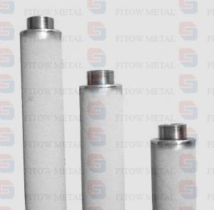 Buy cheap Filtro micro del cartucho titanium puro del polvo de la pureza 99,7% para el tratamiento de aguas del ozono product