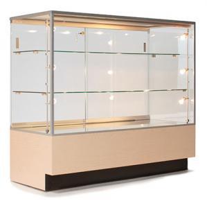 China 注文の携帯用宝石類のショーケース、ネックレスのための時計屋の陳列ケース wholesale