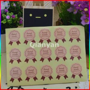 China paper decoration sticker, sealing sticker on sale