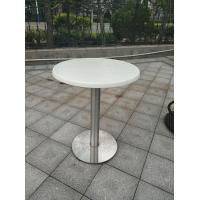 China Outdoor Furniture Cafe Metal Garden Table Legs Waterproof Mirror Finish on sale