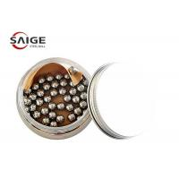 Quality 100Cr6 1.7mm Chrome Steel Balls G60 For Nail Polish Excellent Hardness for sale