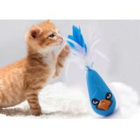 Lovely Shape Auto Cat Wobble Toy , Rotate Electronic Tumbling Cat Toy for sale