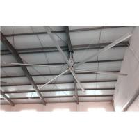 Buy cheap Aluminum Alloy Warehouse Ceiling Fans , Commercial Warehouse Fans For Air Cooling product