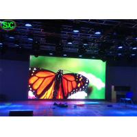 China HD Indoor Rental Led Display Full Color , Led Tv Advertising Video High Brightness on sale
