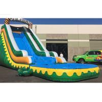 Buy cheap Outdoor Summer Cool Inflatable Water Slide And Pool 9Mx 3M X 5M Easy Installation product
