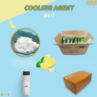 Buy cheap Icy Fragrancce Cosmetics Grade Ws3 Cooling Agent For Face Wash product